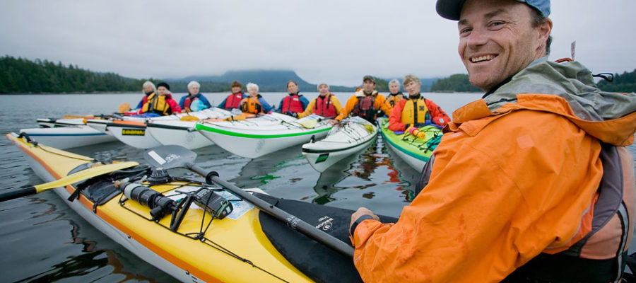 Dave Pinel, U of G graduate and managing owner of West Coast Expeditions in Courtenay, B.C.