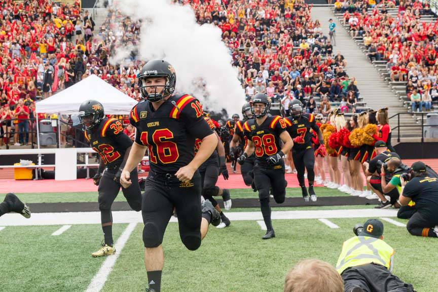 University of Guelph Gryphons football team.