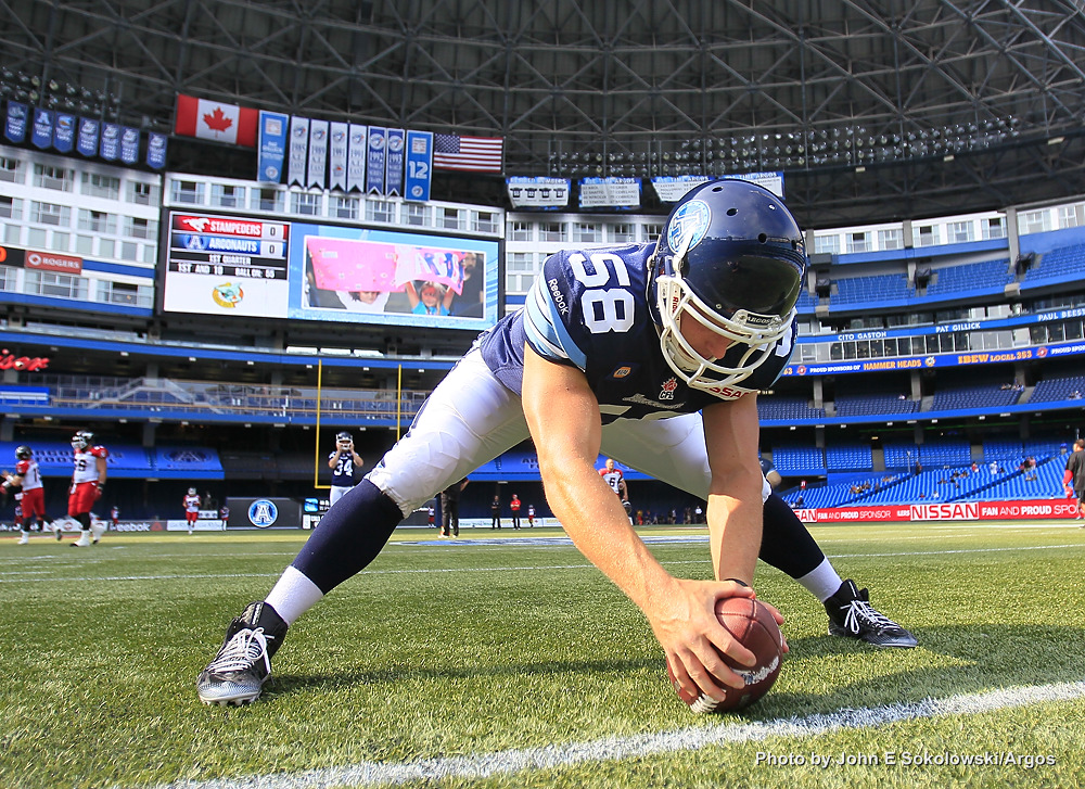 Jake Reinhart, Toronto Argonauts