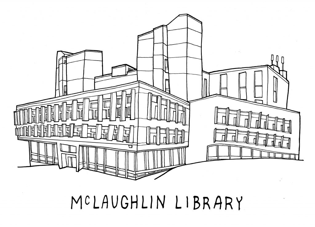 University of Guelph McLaughlin Library by Daniel Rotsztain