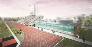 New football facility at U of G is privately funded by Angel Gabriel Foundation.