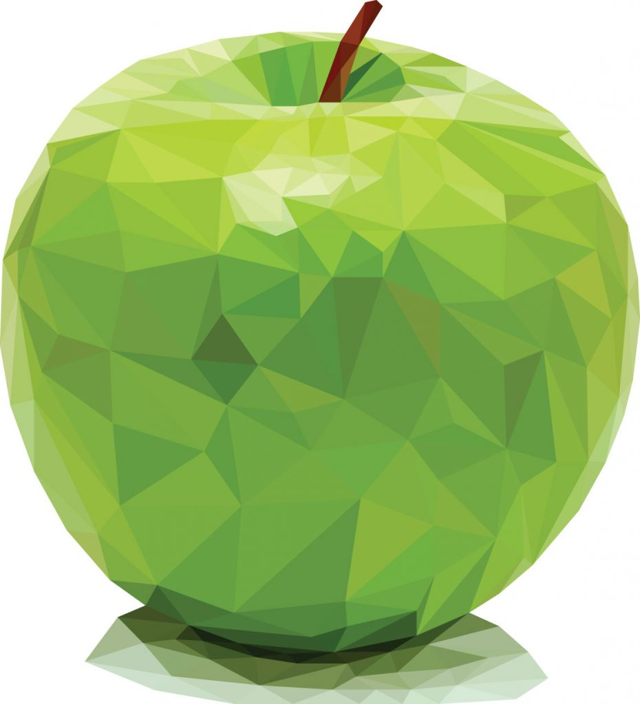 Apple illustration.