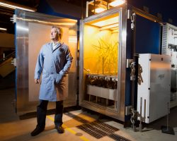 How scientist Mike Dixon is using space technology to combat food scarcity on Earth