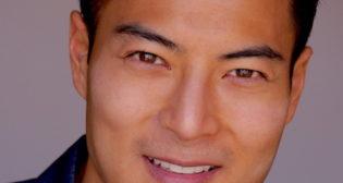 Handsome Asian actor